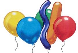 Где надуть воздушные шарики газом гелий?